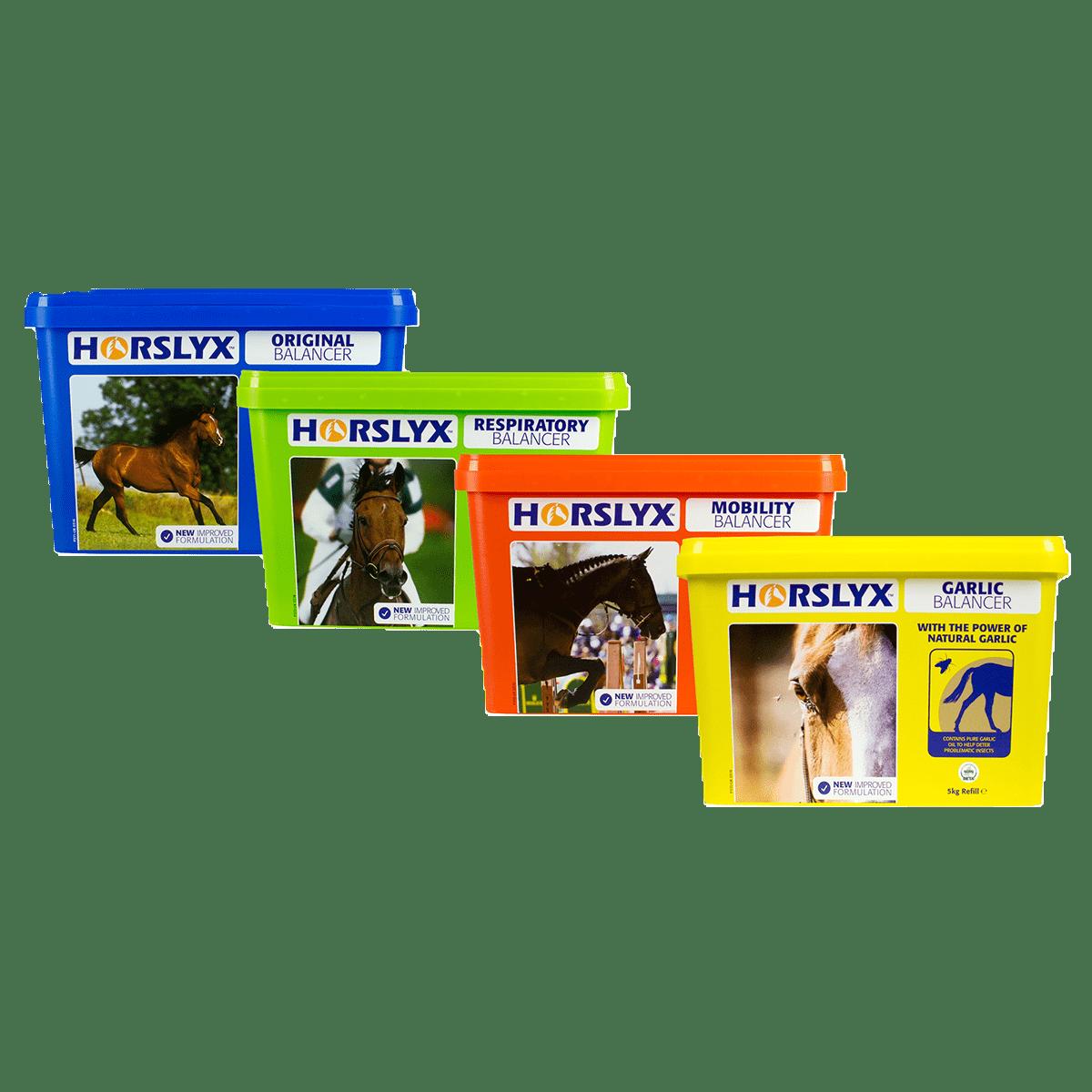 Horslyx termékcsalád - Mobility - Respiratory - Garlic - Original - Impavidus Trade Zrt
