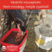 kecsketenyésztés nyalótál